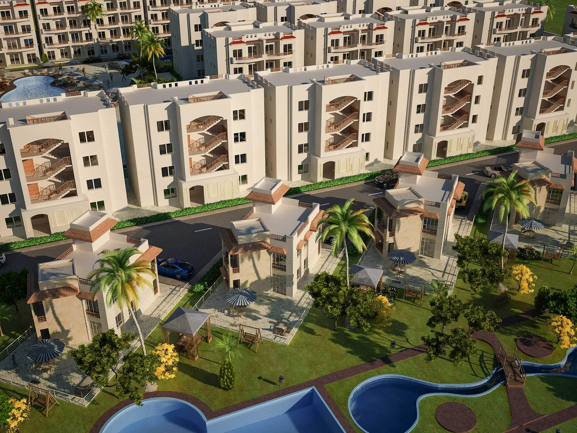 Sea view one bedrooms Makadi bay property for sale